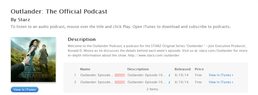 Outlander: The Official Podcast