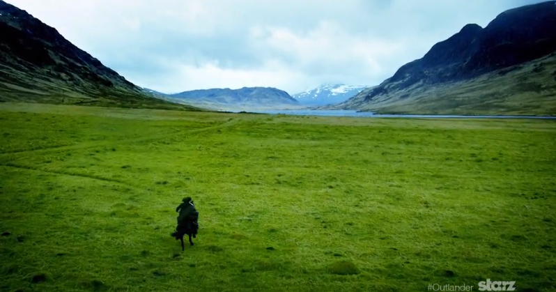 'Outlander' opening sequence - green glen