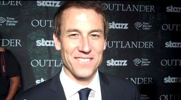 Tobias Menzies, San Diego 'Outlander' World Premiere