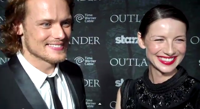 Sam Heughan, Caitriona Balfe, San Diego 'Outlander' World Premiere