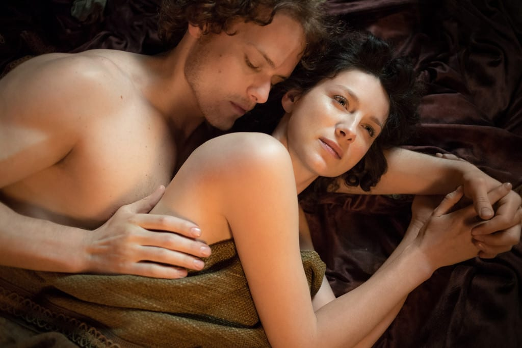 TCA 2015—Caitriona Balfe and Sam Heughan