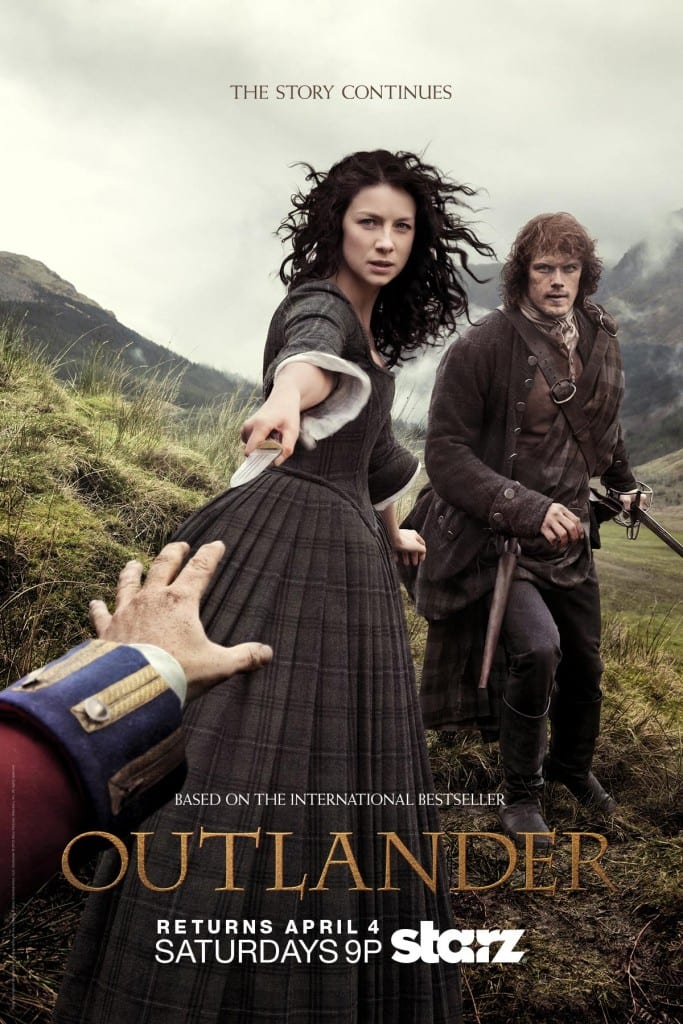 """'Outlander': The Story Continues"" Key Art"