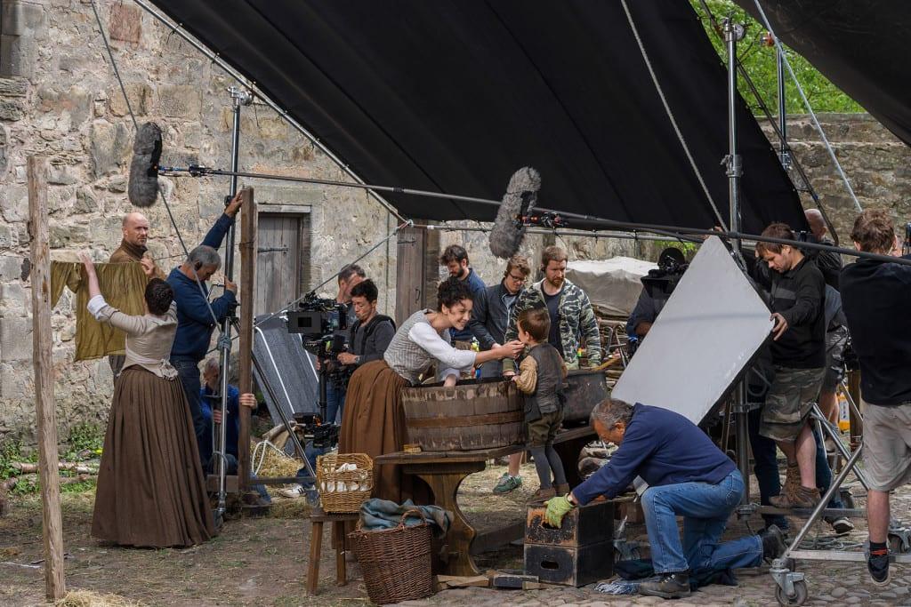 'Outlander' Season 1B  Behind the Scenes, Claire Randall Fraser (Caitriona Balfe)