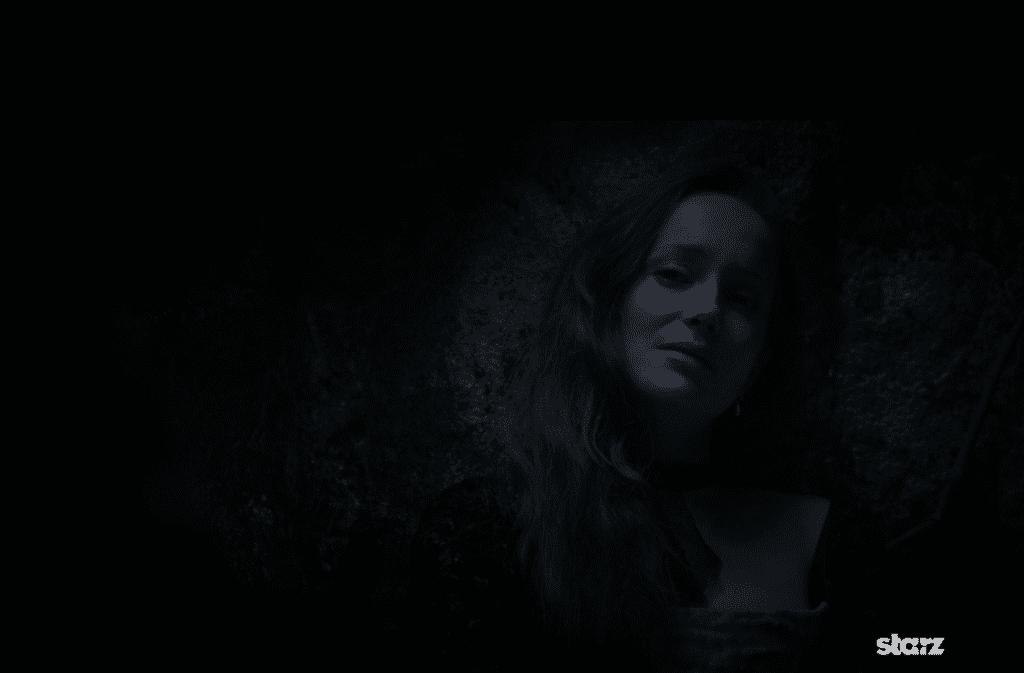 Lotte Verbeek as Geillis Duncan, in the thieves hole