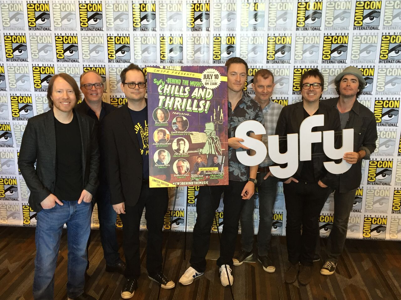 SyFy Thrillis and Chills Behind the Music