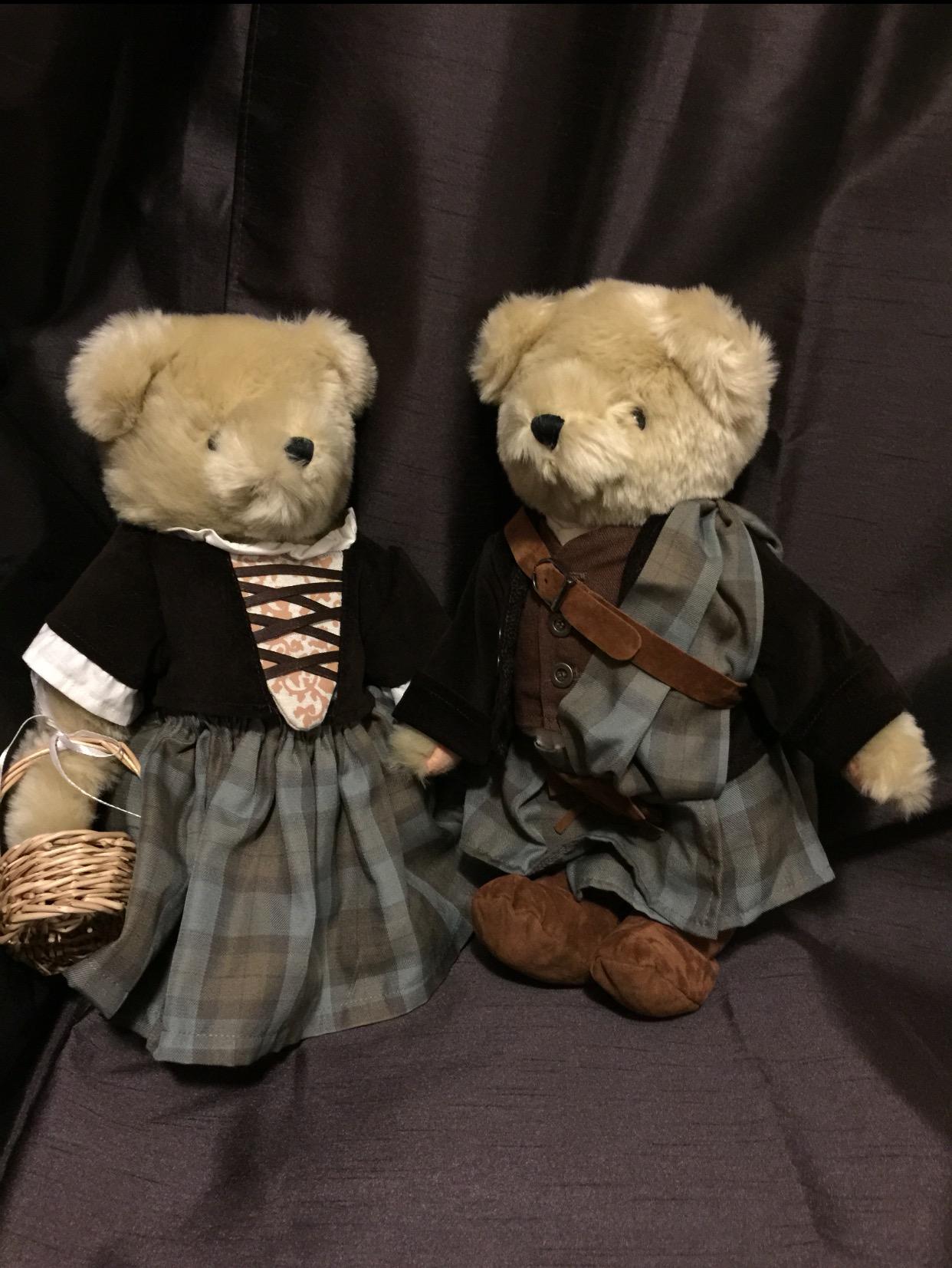 Outlander bears by North American Bear Co.