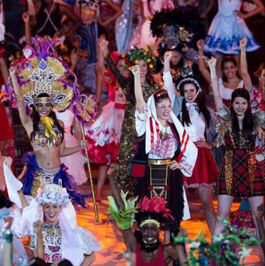 Miss Scotland at Miss Universe