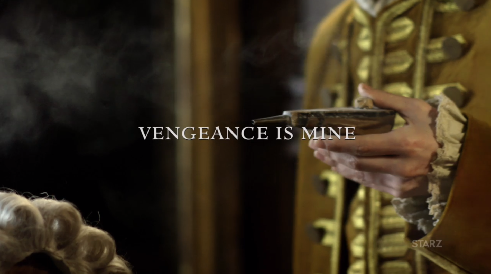 "Title card for Episode 211 ""Vengeance is Mine"""