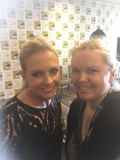 Melissa Joan Hart and Ginger Wiseman