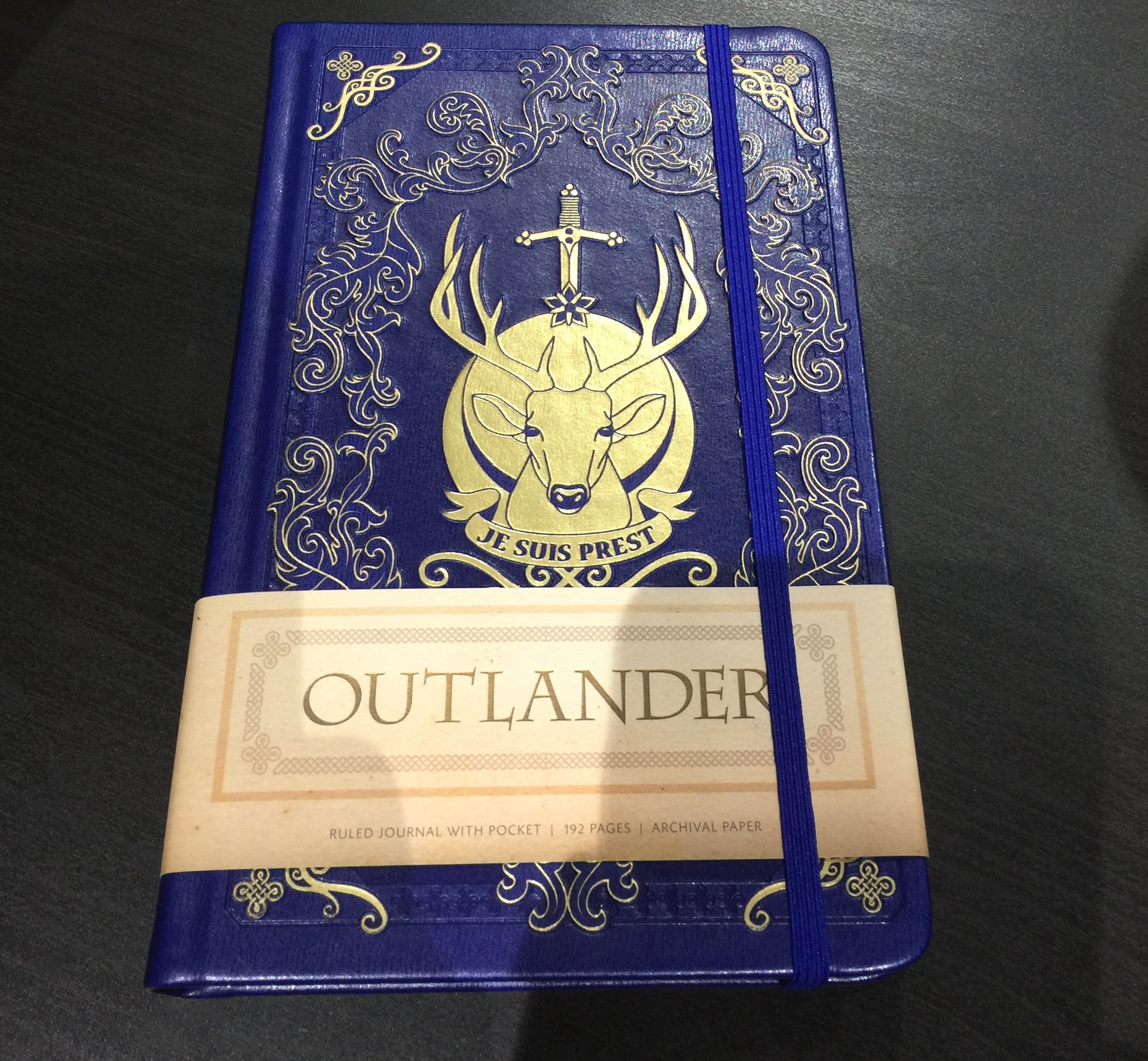 Episode 206 sdcc 2017 redux the outlander podcast insight editions outlander inspired leatherette journal fandeluxe Images
