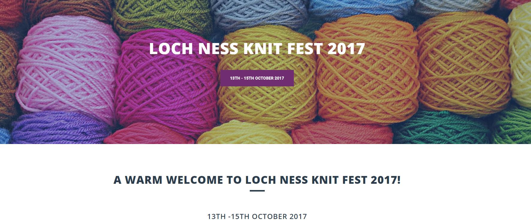 The Loch Ness Knit Fest